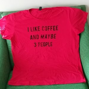 Funny T-shirt Coffee and 3 People